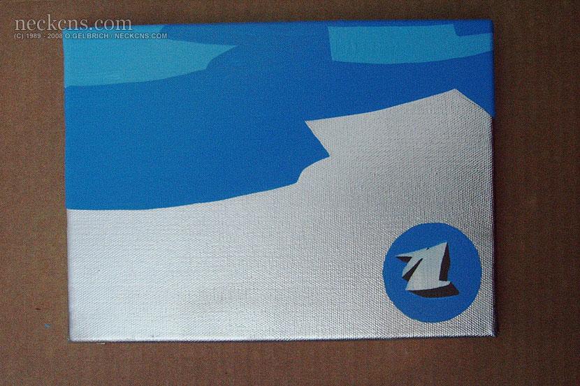 Chrome blue, 2003