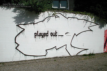 Graffiti Critic: Played out, 2003