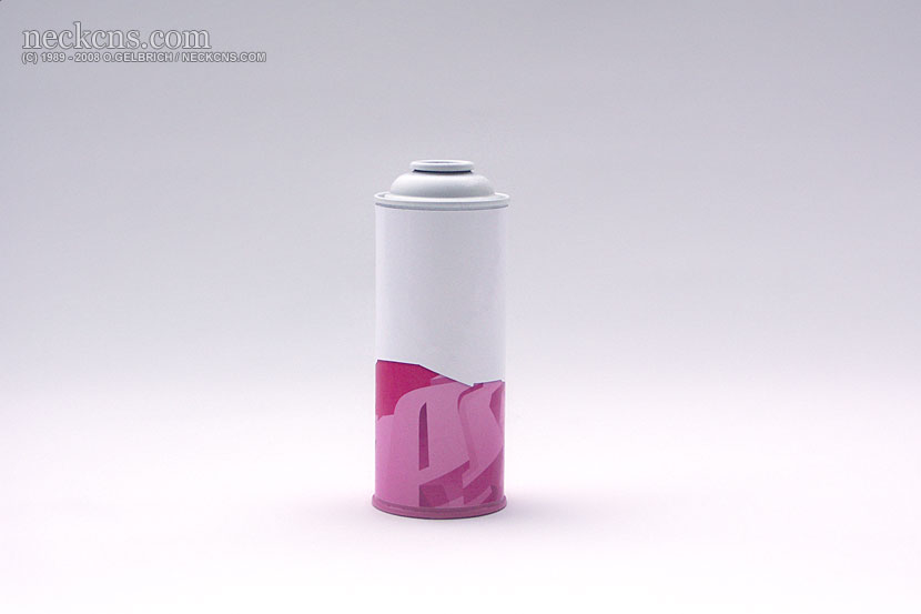 Depth Style Cans: Pink
