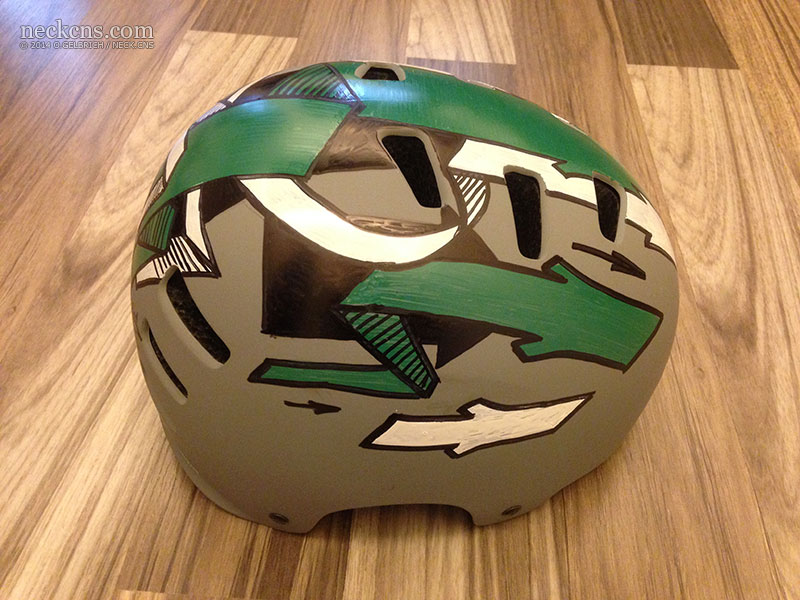 Arrows - helmet