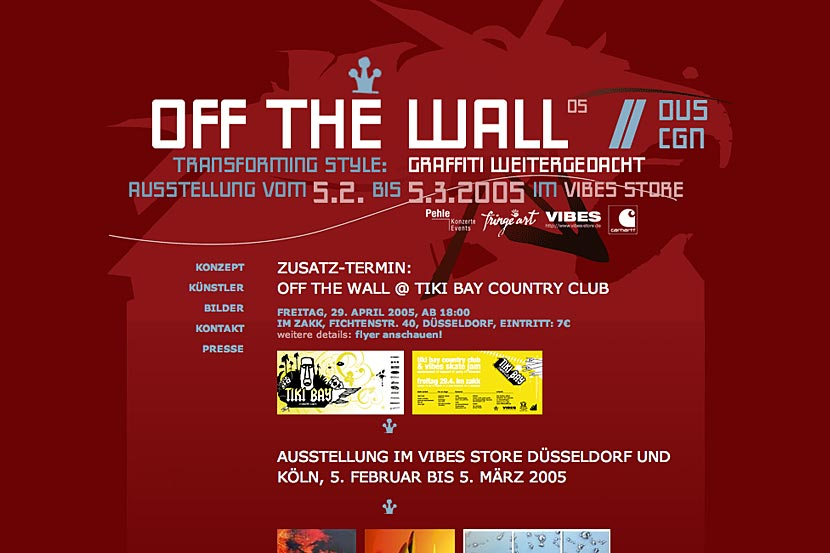 Off the wall 05