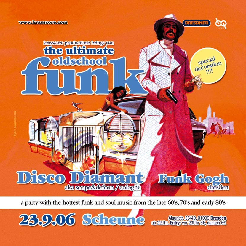Flyer Ultimate Oldschool Funk