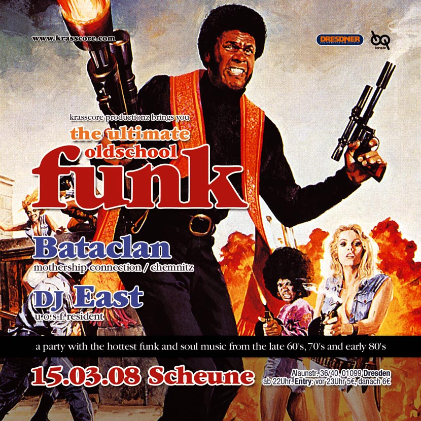 Flyer Ultimate Oldschool Funk