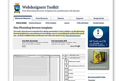 Webdesigners Toolkit